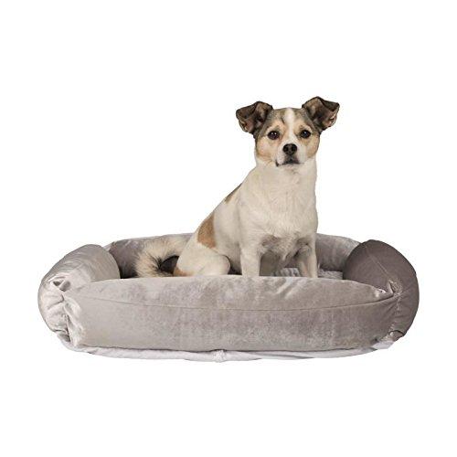 Trixie Hundebett Scarlett in grau 70×55cm - 2