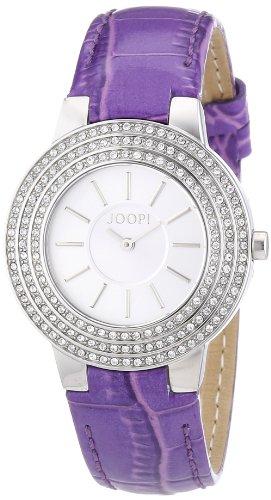 Joop JP100992F01 - Reloj analógico para mujer de cuero plata