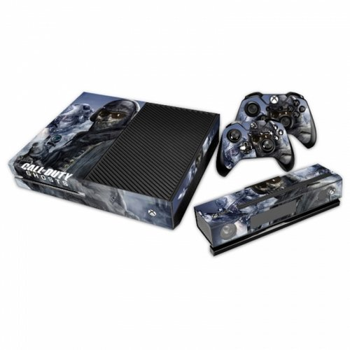 XB1 Aufkleber COD Ghosts - Xbox One Call Duty Of Ghosts