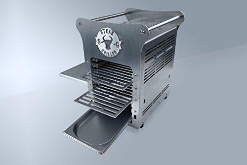 STEAKGRILLER - Made for Steak - Gasgrill aus Edelstahl