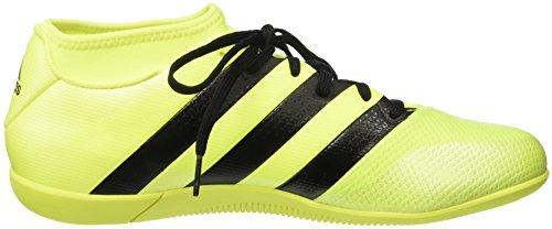adidas Ace 16.3 Prime Aq3419, Entraînement de football homme Jaune (Solar Yellow/Core Black/Silver Metallic)