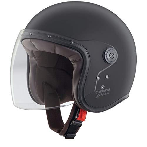 Caberg Freeride Open Face Motorcycle Helmet XL Matt Black