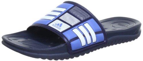 adidas Mungo QD 010629, Sandali Uomo, Blu (Blau (Dark Marine / Atlantic Blues07 / White)), (Adidas Mens Infradito)