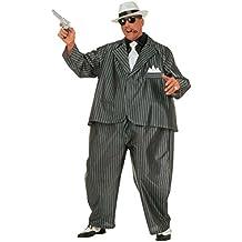 Gangster mafia disfraz gordo jefe al capone