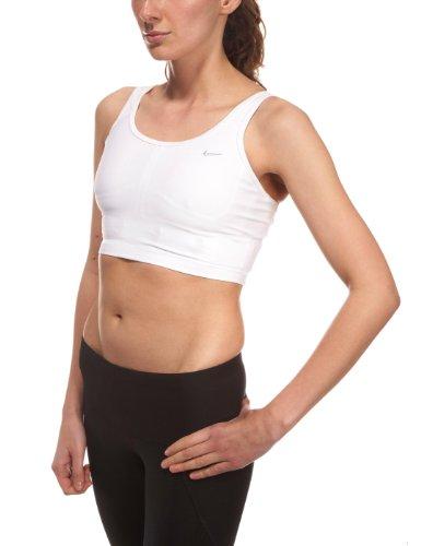 Fit de Nike Airborne-Haut-Femme Blanc - blanc