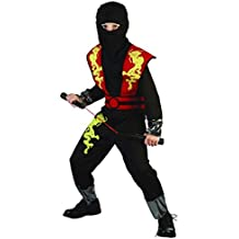 Disfraz niño Ninja Dragon rojo - talla 4 - 6 años (110-120CM)