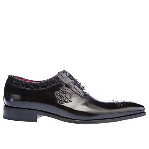 Jeffery West K106, Zapatos de Cordones Oxford para Hombre, Azul (Navy Navy), 41 EU