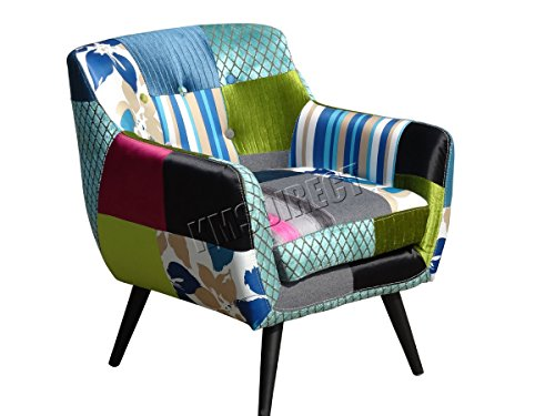 FoxHunter Patchwork Chair ...