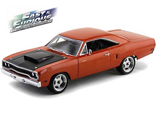 plymouth-road-runner-le-cuivre-noire-1970-voiture-miniature-miniature-deja-montee-gmp-118