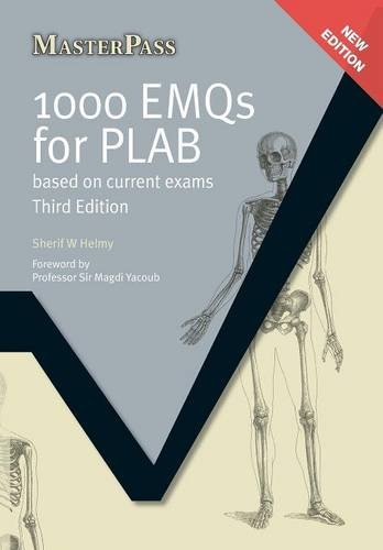 1000 EMQs for PLAB Cover Image
