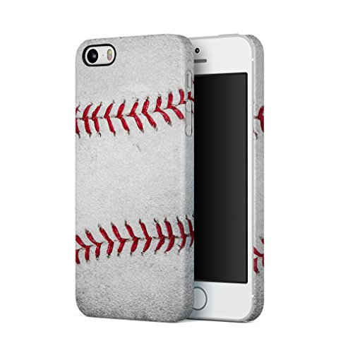 Baseball Ball Pattern Apple iPhone 5 / iPhone 5S / iPhone SE SnapOn Hard Plastic Phone Protective Fall Handyhülle Case Cover Iphone 5 Fall-hockey