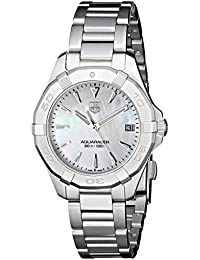 TAG Heuer Women's Analogue Watch with Metallic Dial Analogue