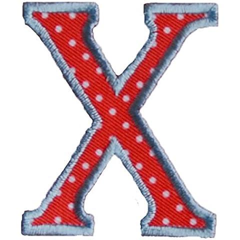 X 5cm rosso bianco Creativo Tessuto Di