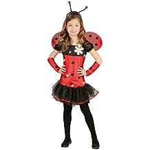 Disfraz de Mariquita (Talla 4-6 años)