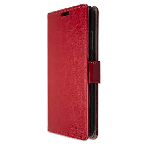 caseroxx Tasche Case Hülle Bookstyle-Case für Gigaset GS270 / GS270 Plus in rot
