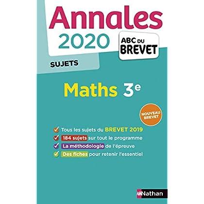 Annales ABC du Brevet 2020 Maths - Non Corrigé