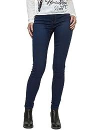 JACQUELINE de YONG Womens Skinny Low Eagle Jeans In Indigo