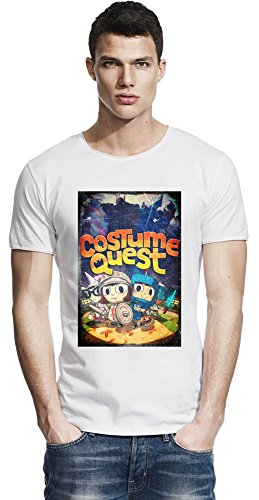 Costume Quest Poster Raw Edge-T-Shirt X-Large