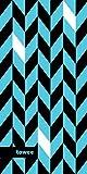 Towee schnelltrocknendes sporthandtuch, mikrofaser reisehandtuch Dynamica Blue, 50 x 100 cm