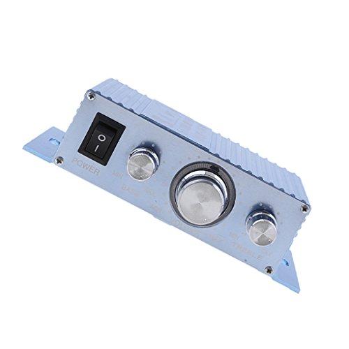 Baoblaze Mini HiFi Verstärker Bluetooth 12V Stereo Audio Amplifier Bass Kanal Audio Endstufe Kleiner Verstaerker für Home und Auto KFZ