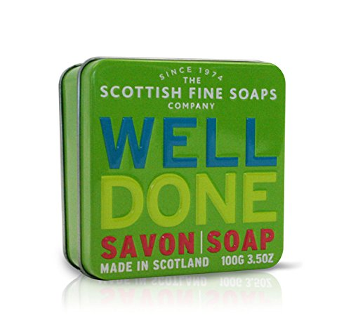 Scottish Soaps Soap In A Tin Well Done 100g