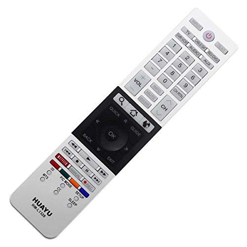 Remplacement TV Télécommande - Commande à Distance Télécommande - Commande à Distance LED TV Toshiba CT-9881 CT-90300 CT-90388