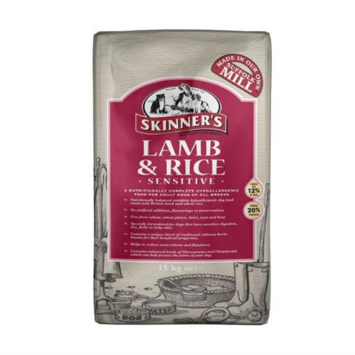 Skinners Sensitive Lamb and Rice Dogs Food 15kg