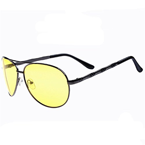 Z-P Man's New Style Fashionable Sports Style Cycling Driving Night Vision Polarized Sunglasses 60MM