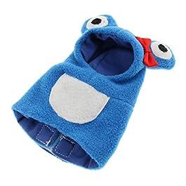 Homyl Vestiti per Uccelli Gilet Cappotti e Giubbotti Confortevole Abbigliamento per Cockatiel Cockatoo Parakeet Macaw Conure