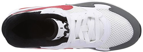Nike Air Max St (Gs), Chaussures de running garçon Blanc - Weiß (White/Unvrsty Red-Cl Gry-Blck)
