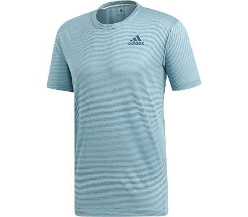 adidas Herren Parley T-Shirt, Blue Spirit/Petrol Night, L