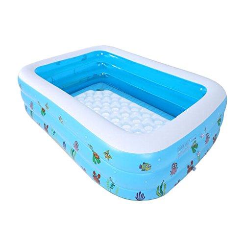 ischen Erwachsenen Badewanne Paar Aufblasbare Badewanne kinder Verdickung Badewanne Tragbare Faltung Badewanne Kunststoff Blau (Paket Lieferung Kostüm)
