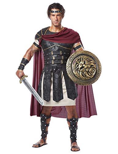 KULTFAKTOR GmbH Römischer Gladiator Antike Kostüm braun-beige M ()