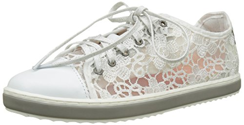 Desigual Supper Happy, Sneakers Basses Femme Blanc (White 1000)