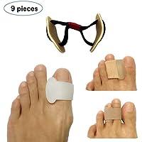 Pack von 9 Stück Toe Separatoren und Bunion Corrector Toes Spreader und Overlapping Toe Spacer für orthopädische... preisvergleich bei billige-tabletten.eu
