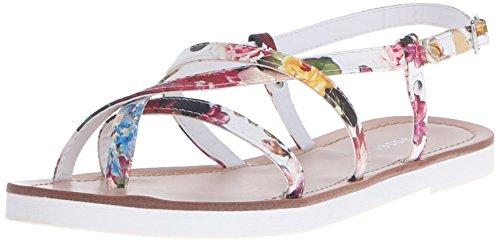 Madden Girl Ludo Sandal White/Multi