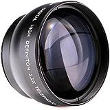 K&F Concept - 52mm Objetivo para Cámara Réflex 2.2X Digital Objetivo de Alta Definición Azul Film Coated Lente Telepfoto para Canon Rebel T5i T3i XTi XS T4i T2i XT SL1 T3 T1i XSi EOS 1000D 600D etc.