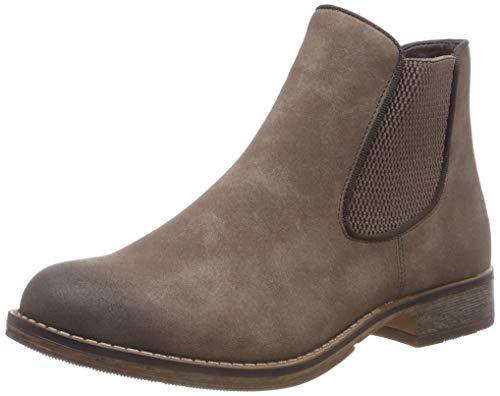 Rieker Damen 97780 Chelsea Boots, Beige (Congo/Moro 64), 42 EU