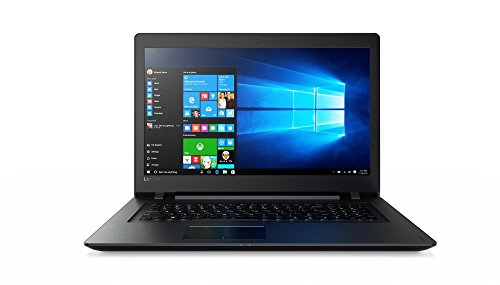 Lenovo ideapad 110 43,94 cm (17,3 Zoll HD+) Notebook (AMD A8-7410 Quad-Core, 8GB RAM, 1TB HDD, AMD Radeon R5, DVD, Windows 10 Home) schwarz