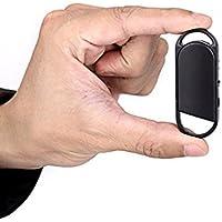 8 GB Mini enregistreur de voix espion enregistreur Keyring disque USB MP3 Player Portable Dictaphone Pour Professionnels, étudiants, Collection de preuve - sans Flashing/Signals