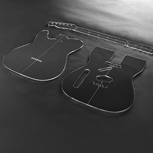 acrylic-t-style-guitar-template