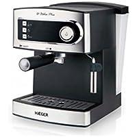 Haeger CM-85B.006A Independiente Semi-automática Espresso maker 1.6L Negro -