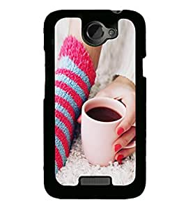 Morning Coffee 2D Hard Polycarbonate Designer Back Case Cover for HTC One X :: HTC One X+ :: HTC One X Plus :: HTC One XT