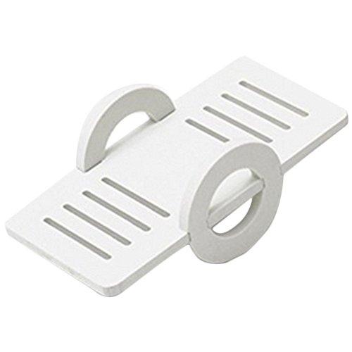 Cdet Balancín de hámsters juguetes ecológicos de madera para moler juguetes molar pequeños,Blanco