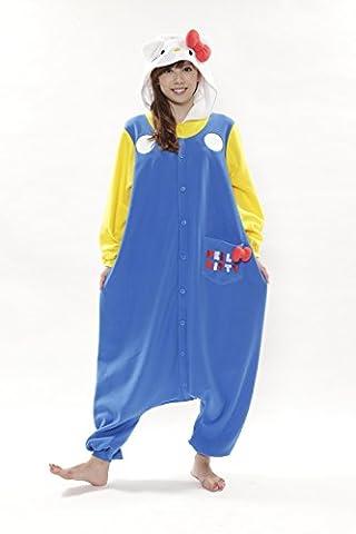 Sazac Kigurumi Hello Kitty 70s Kostüm Schlafanzug Hallo Kitty (Men: One Size)