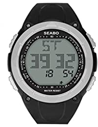 6c730c9a0ced Reloj Electronico Reloj Inteligente Hombre 30M Sports Waterproof  MultifuncióN Watches Reloj Digital Cool