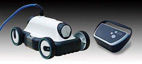 Kokido K900CBX - Robot Piscina Limpiafondos Kokido Nórdica, cubre un área de superficie de 80 m2 y puede filtrar 17.000 litros/hora