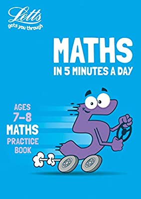 Letts maths in 5 minutes – Letts maths in 5 minutes age 7-8 from Letts