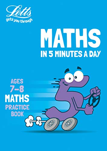 Letts maths in 5 minutes – Letts maths in 5 minutes age 7-8