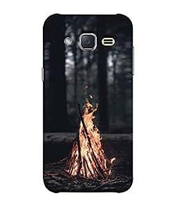 Fuson Designer Back Case Cover for Samsung Galaxy J2 J200G (2015) :: Samsung Galaxy J2 Duos (2015) :: Samsung Galaxy J2 J200F J200Y J200H J200Gu (Dark Danger Daring Friends Male Gents Holiday)